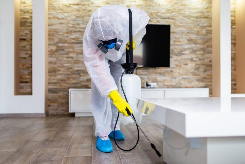 Disinfecting House from Coronavirus